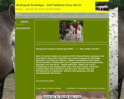 Fuhrhalterei Norikergestüt Borkenhagen