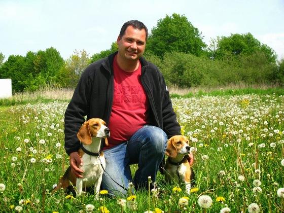 Meine Beagle und ich
