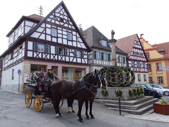 Osterbrunnenrundfahrt in der Fränkischen Schweiz 2018