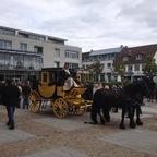 Postkutschenfahrt in Altenkirchen zumr 700-Jahresfeier am 17.08.14